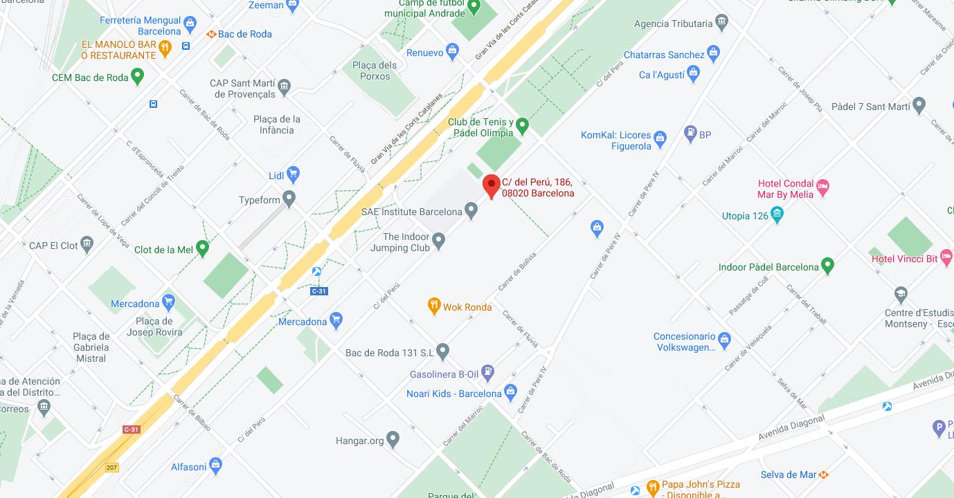 MeetUs - Map